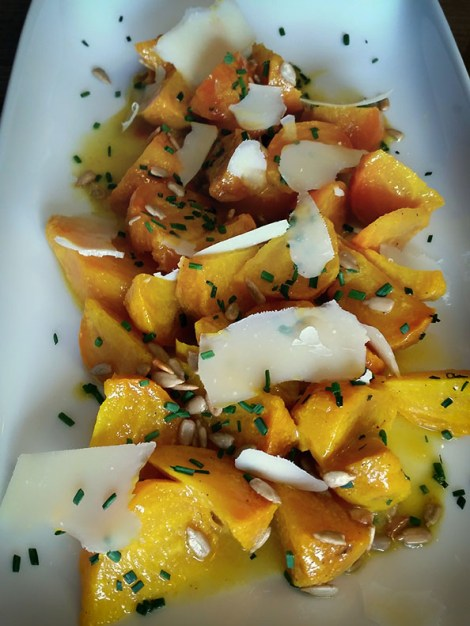 Roasted Golden Beet Salad with Dijon Vinaigrette