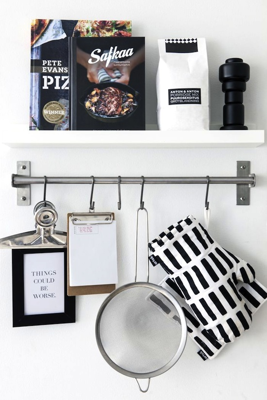 S-Hooks are the Star of Hanging Storage Solutions // 14 ways to Organize with S-Hooks // simplyspaced.com