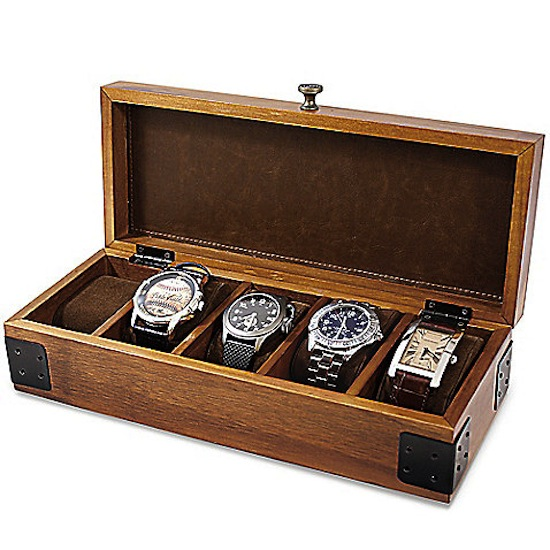 Watch Box // 8 Father's Day Gifts for the Organized Dad // simplyspaced.com
