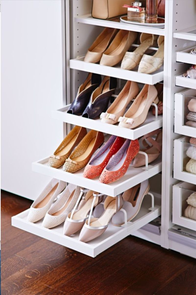 10+ Creative Ways to Organize your Shoes