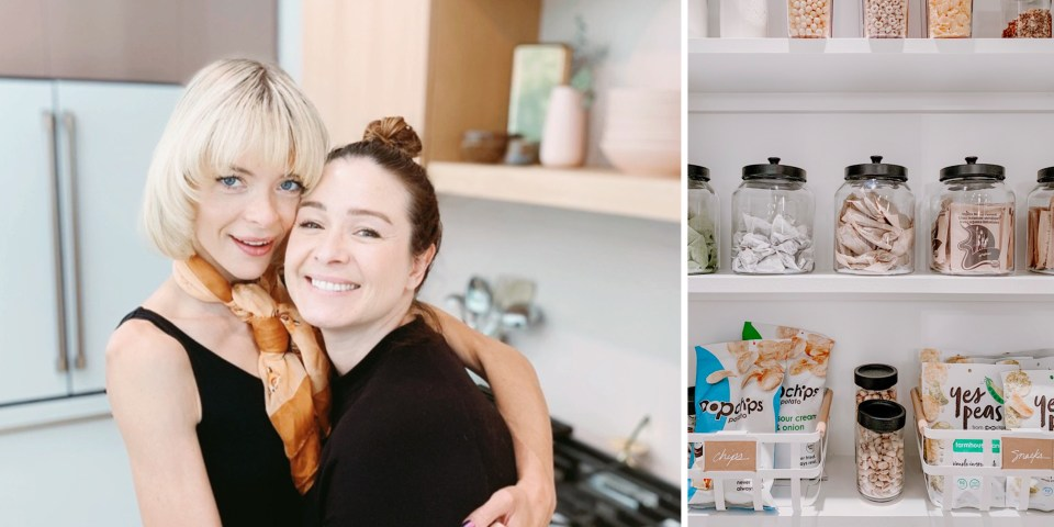 Declutter and organize your kitchen in style: Simply Spaced and Jaime King kitchen makeover
