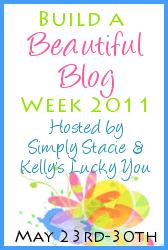 Build a Beautiful Blog Week