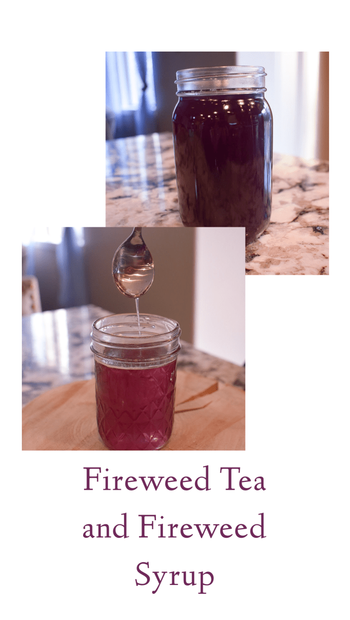 Fireweed Tea and Fireweed Syrup
