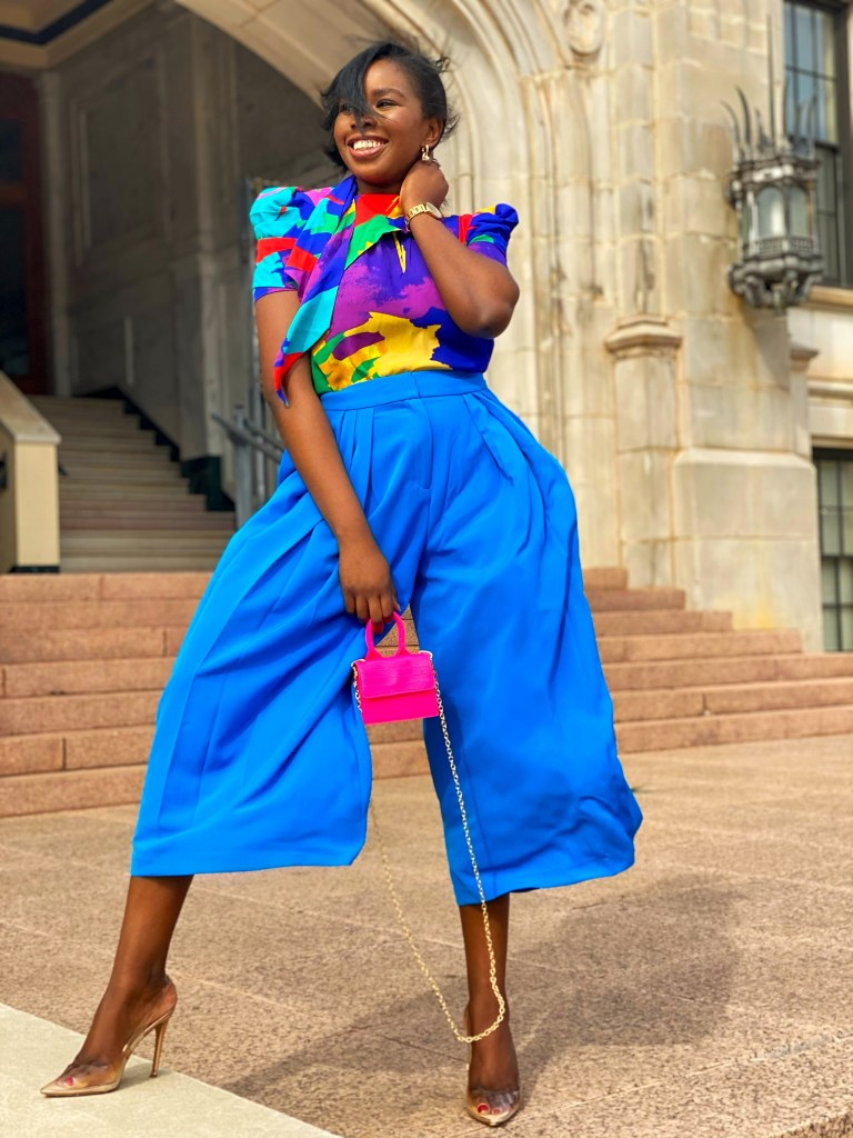 Colourful spring looks