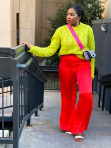 bold colorful looks
