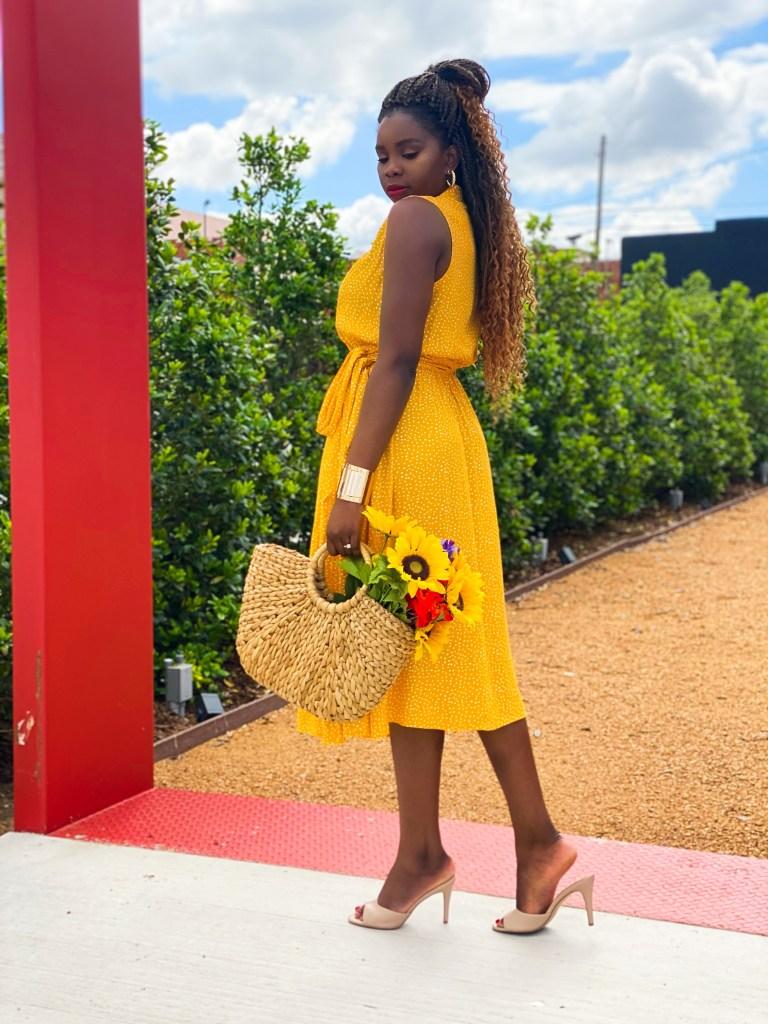 polka dress dress