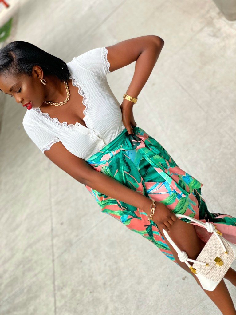 Tropical Outfit idea