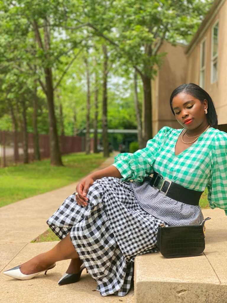 Gingham outfit ideas