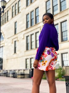 How to style floral shorts for summer