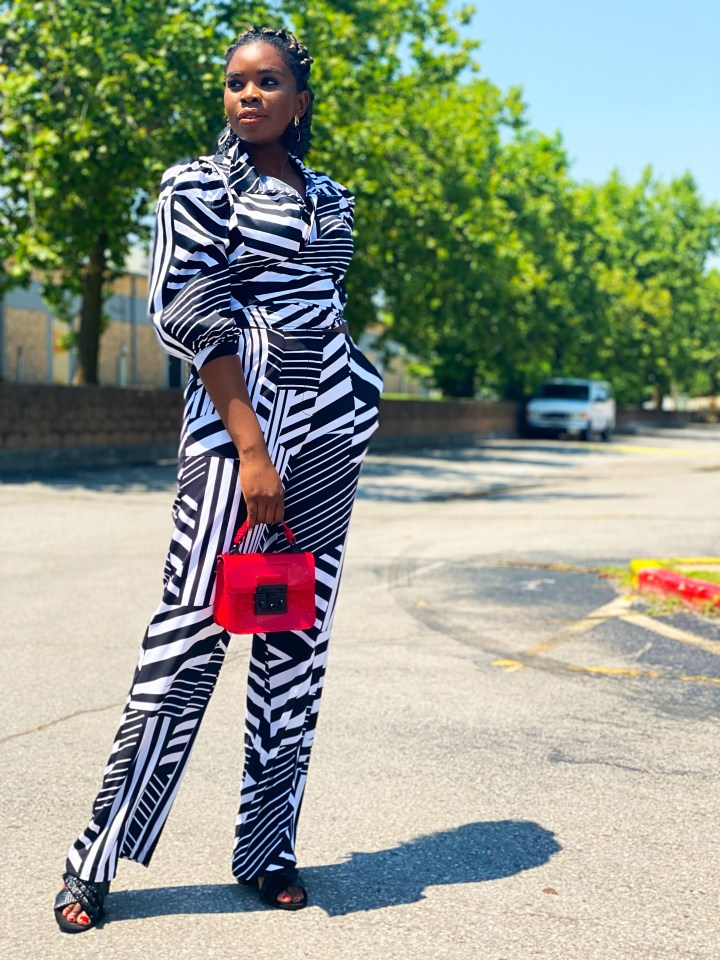 how to style black and white outfits