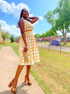 End of Summer Wedding Guest Outfit