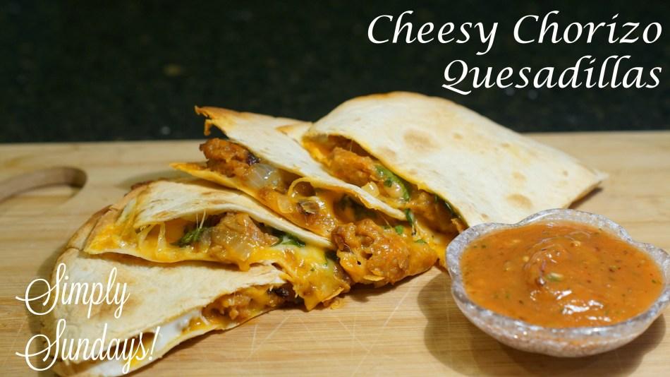 cheesy-chorizo-quesadillas