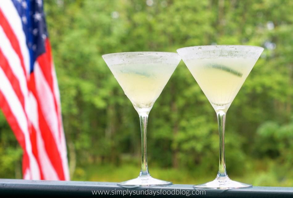 Cucumber-Lime Martini FB