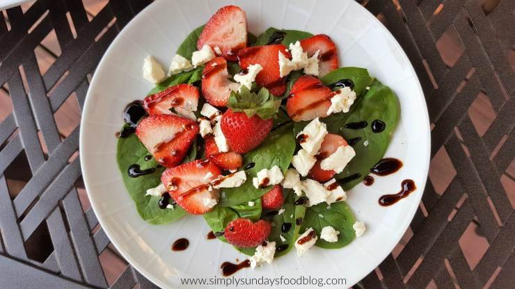 Strawberry Spinach Salad FB