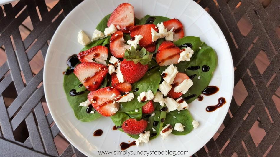 Strawberry Spinach Salad FB
