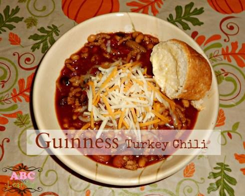 Guinness Turkey Chili Recipe