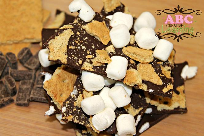 Chocolate Marshmallow Graham Cracker Bark