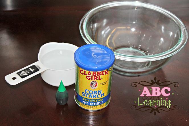 Oobleck Ingredients