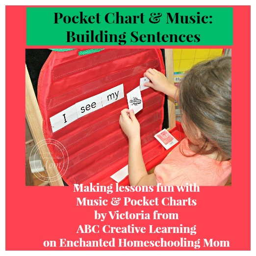 Pocket Chart and Music Building Sentences