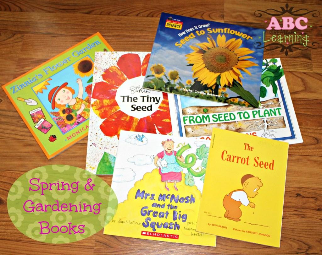 Spring & Gardening April Book Basket Books