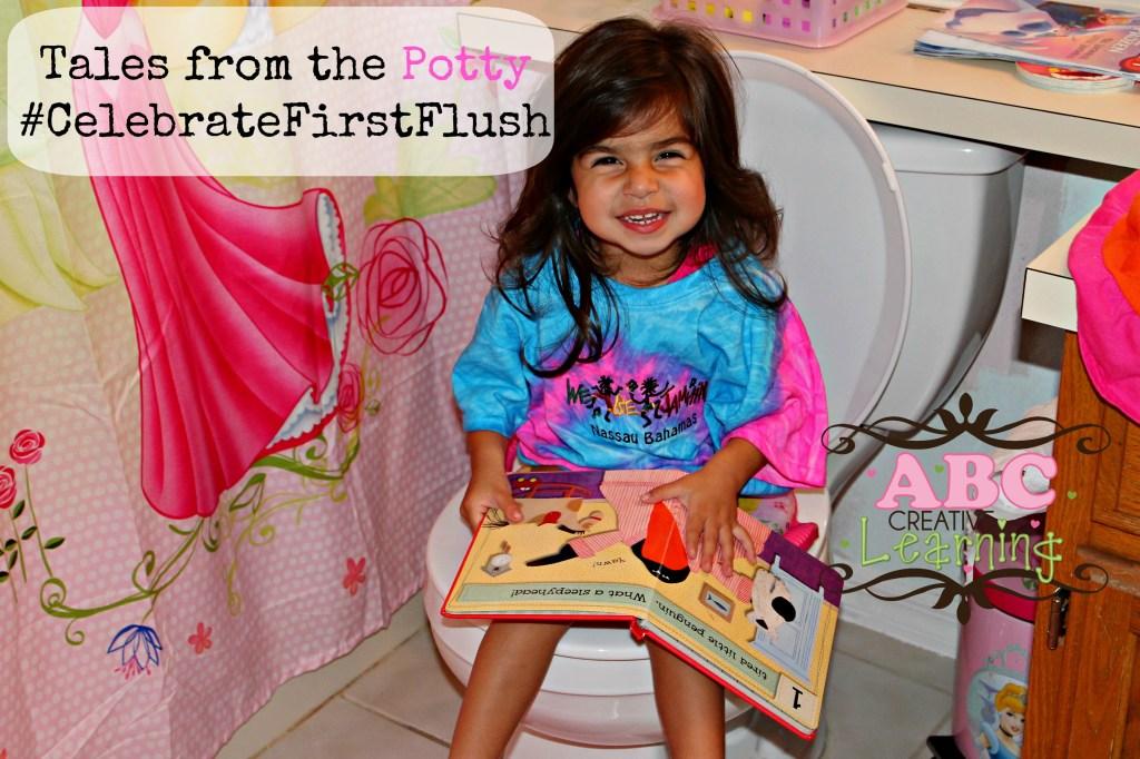 Tales from the Potty Pull Ups #CelebrateFirstFlush