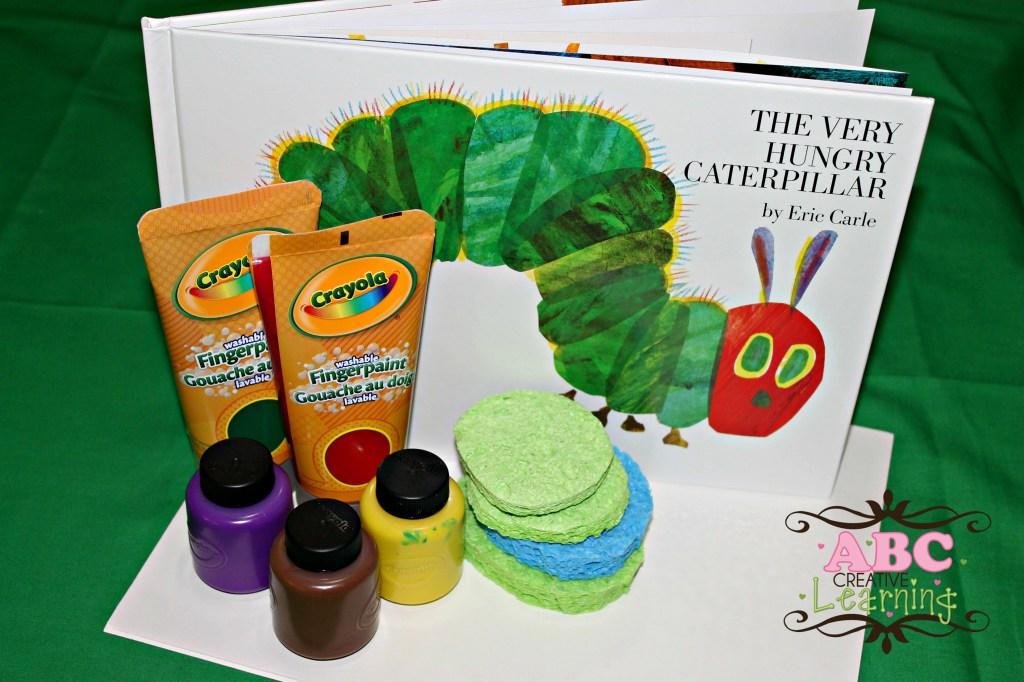 Caterpillar Craft Materials