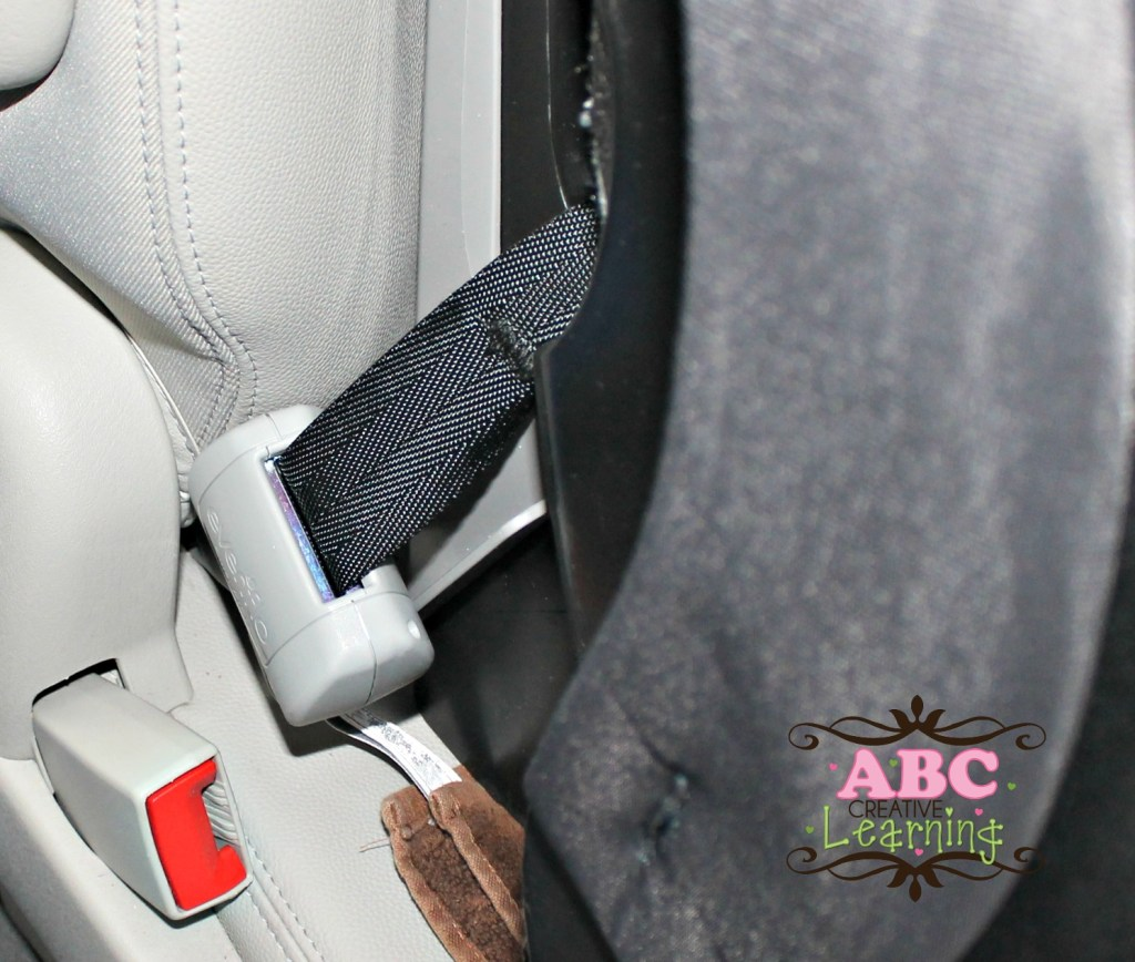 evenflo booster seat safety latch