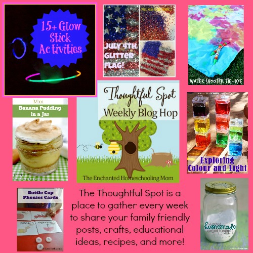 Thoughtful Spot Weekly Blog Hop Featured Family Posts