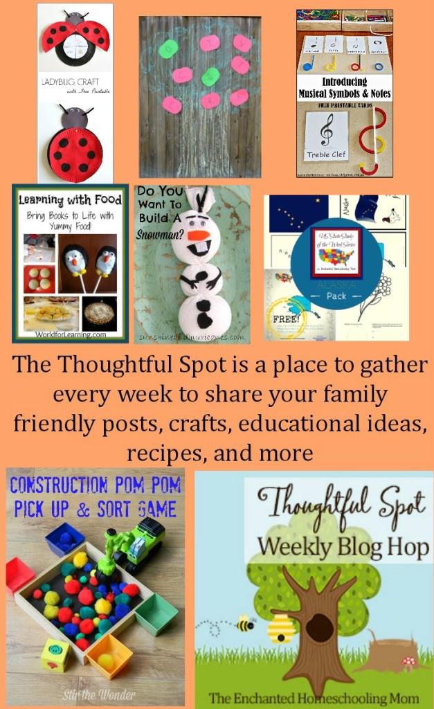 Thoughtful Spot Weekly Blog Hop Park Link Up