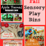 12 Fun Fall Sensory Play Bins