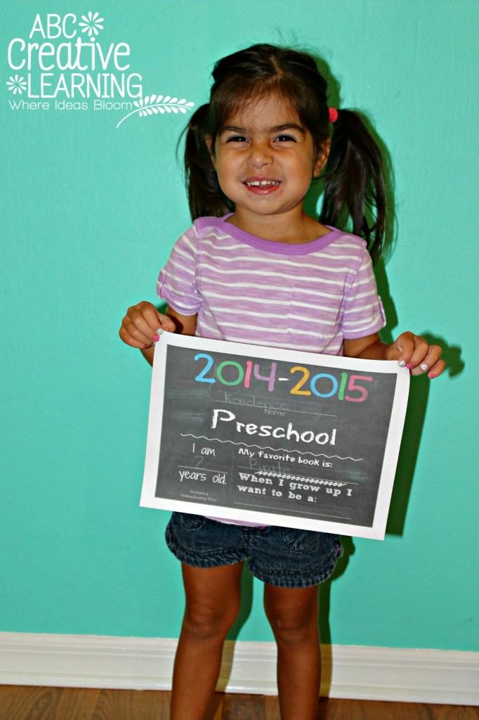 2014-2015 Preschool