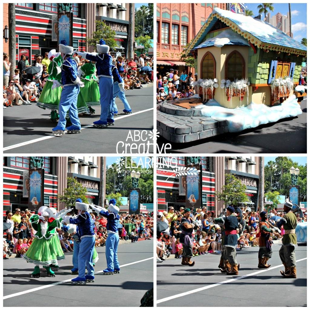 Frozen Summer Fun Parade