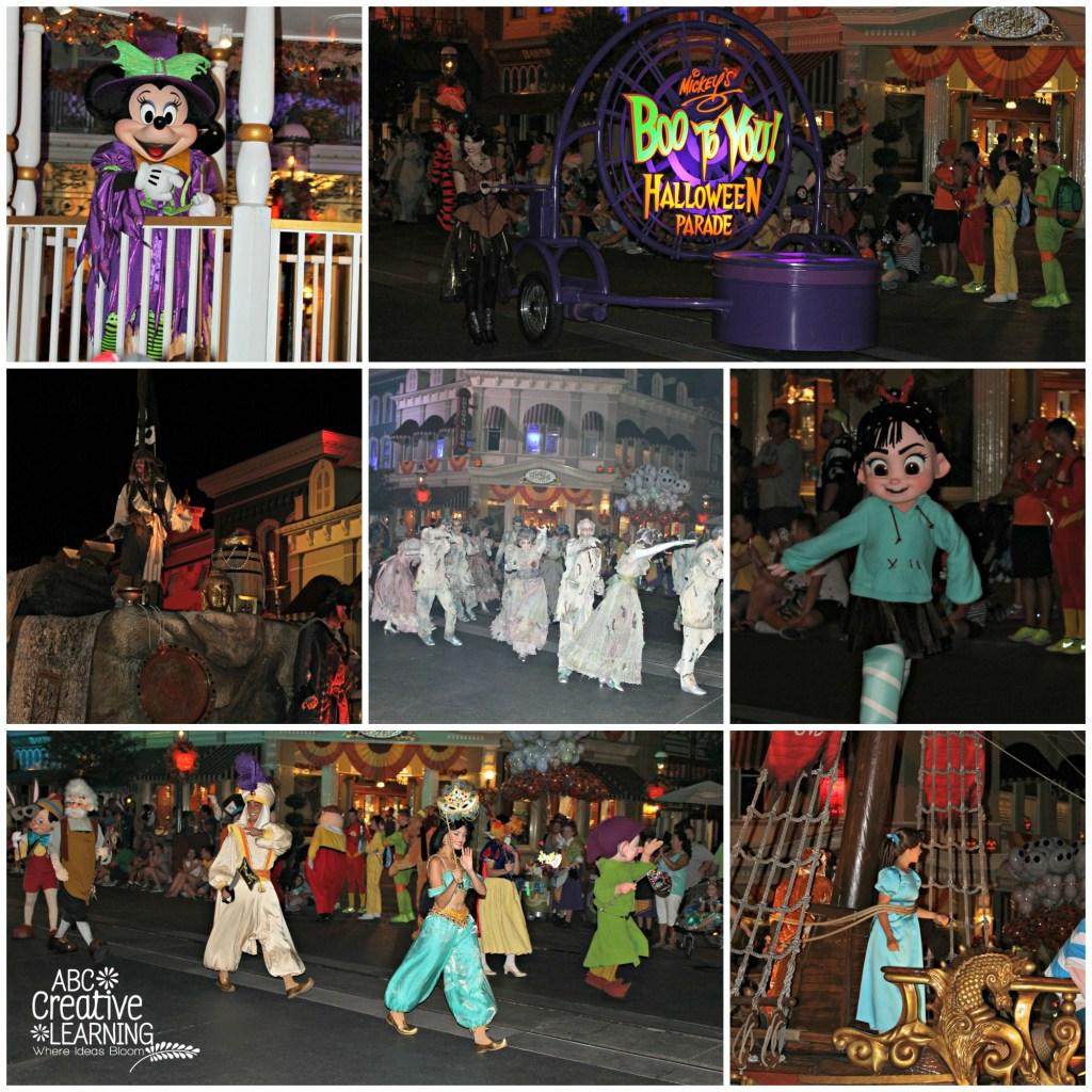 Boo Too You Mickey's Not So Scary Halloween Parade