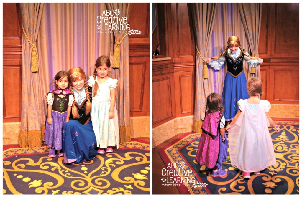 Princess Anna and Queen Elsa at Mickey's Not So Scary Halloween
