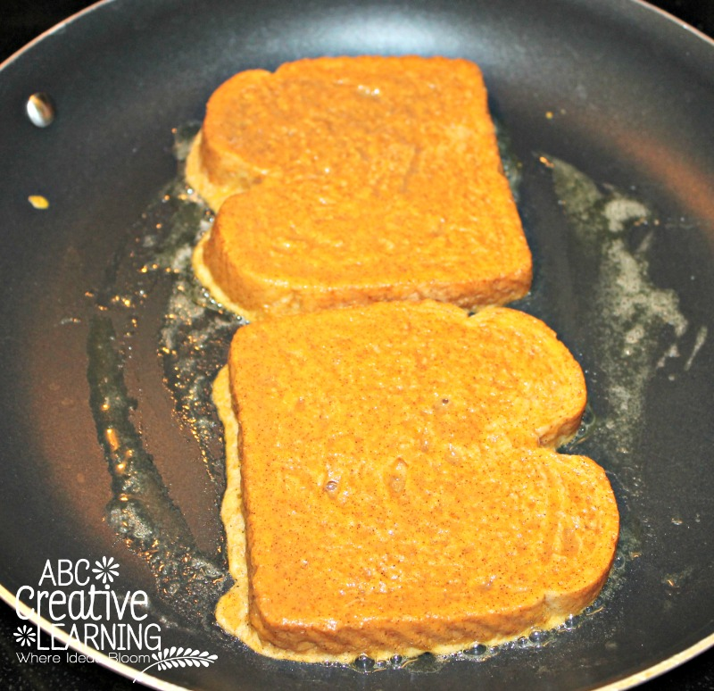 Pumpkin French Toast Slices