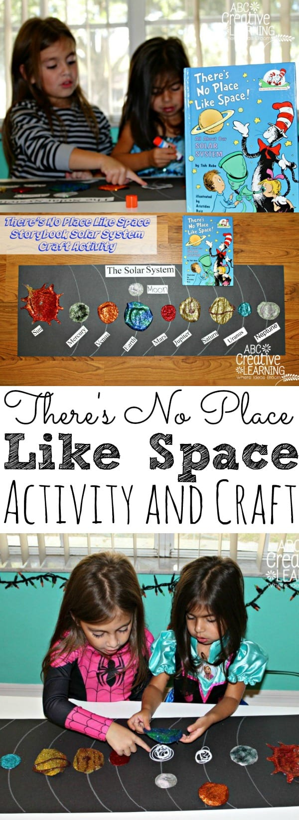 There's No Place Like Space Storybook Activity - simplytodaylife.com