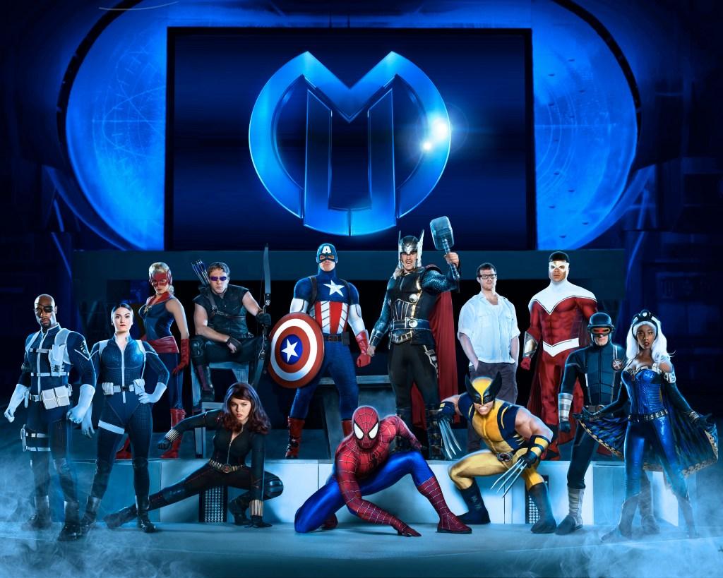Marvel Universe Live Cast