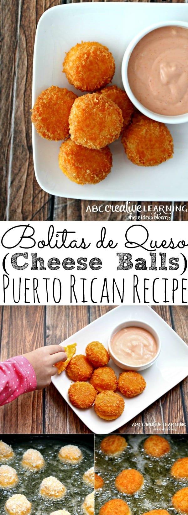 Bolitas de Queso Recipe (Cheese Balls) with Mayo Ketchup