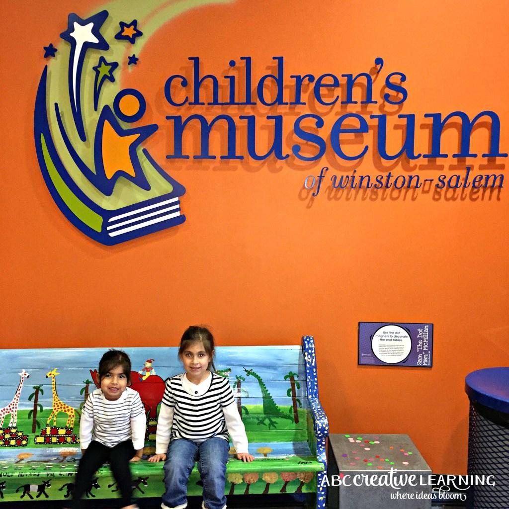Visiting the Children's Museum of Winston-Salem Entrance