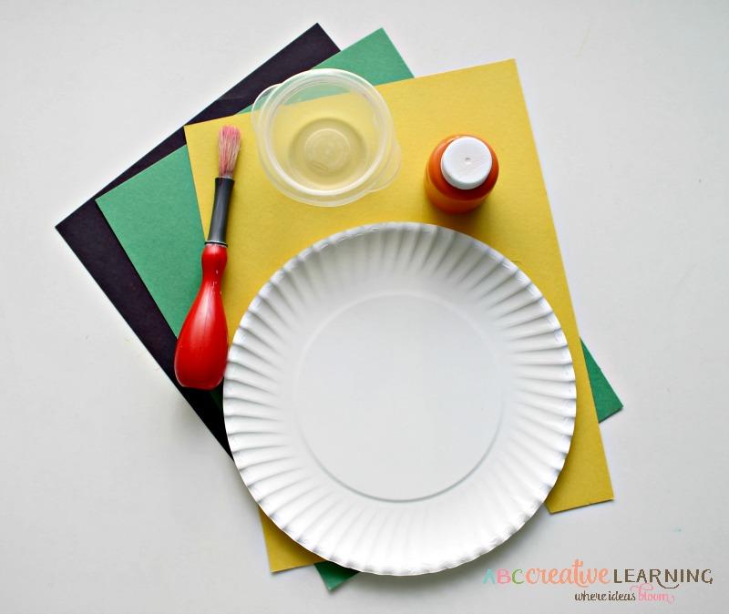 St Patricks Day Craft Leprechaun Paper Plate Mask