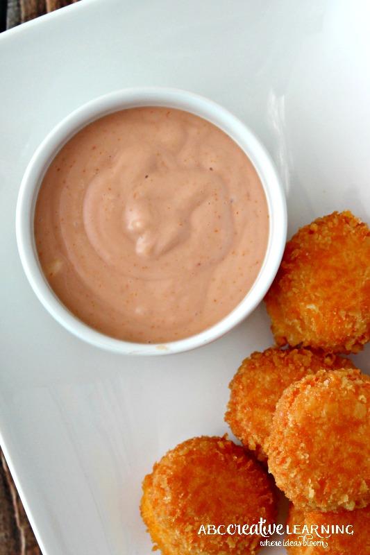 Two Ways Bolitas de Queso Kraft Pin That Twist Recipe Dipping Sauce Mayoketchup