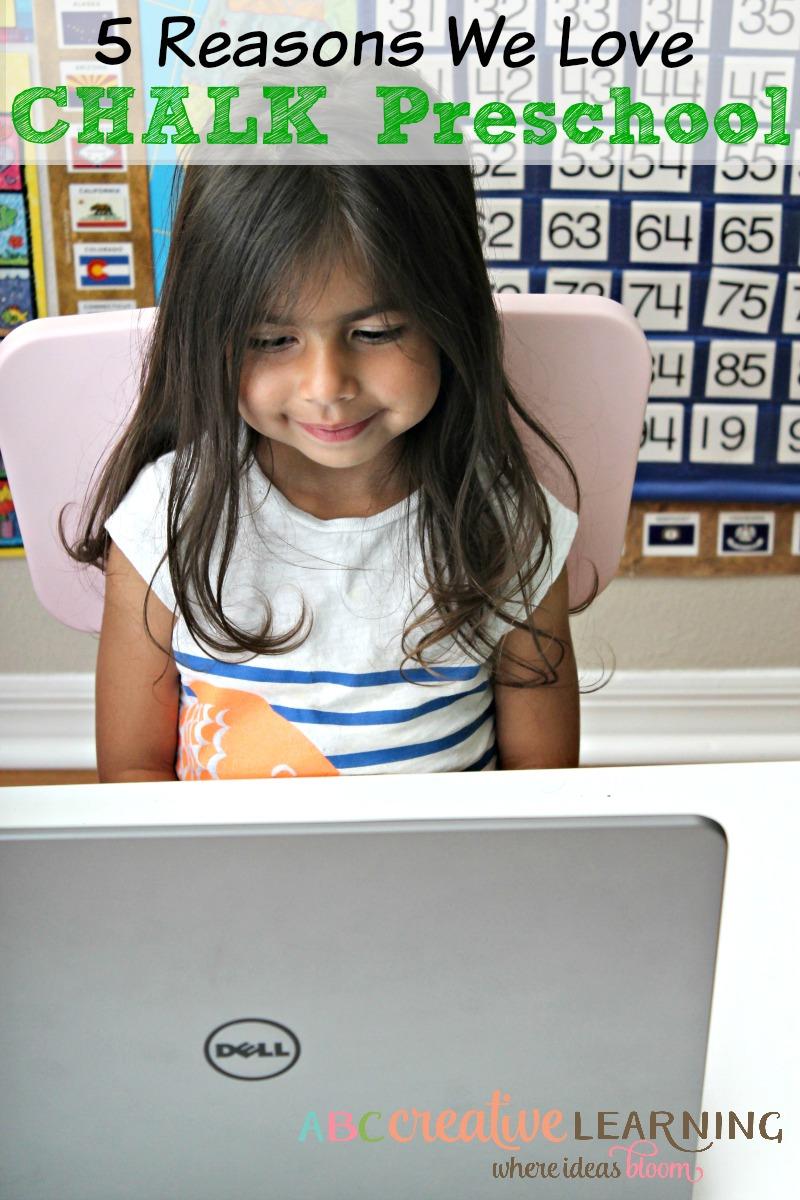 5 Reasons We Love CHALK Preschool Plus a Giveaway