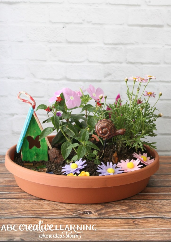 DIY Fairy Garden Inspired by Tinkerbell and Friends Pixie Dust