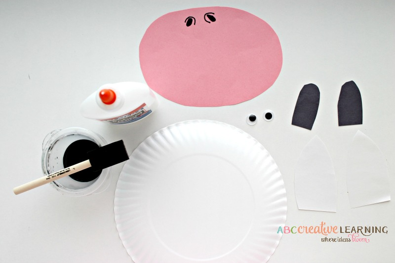 Click Clack Moo Cows That Type Cow Paper Plate Mask Simply Today