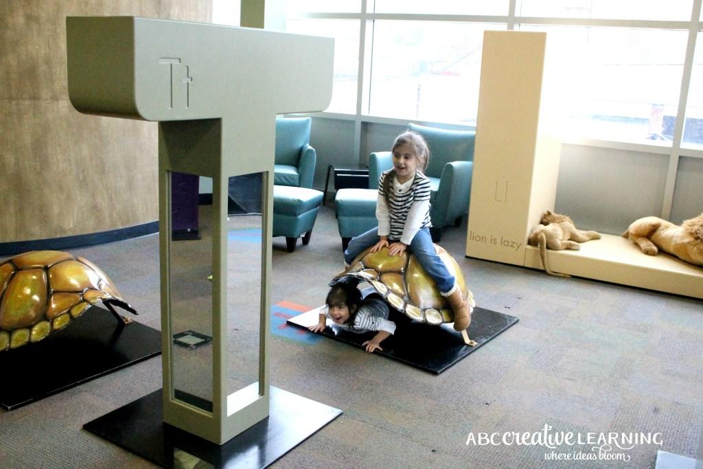 Visiting the Children's Museum of Winston-Salem Animal Alphabet