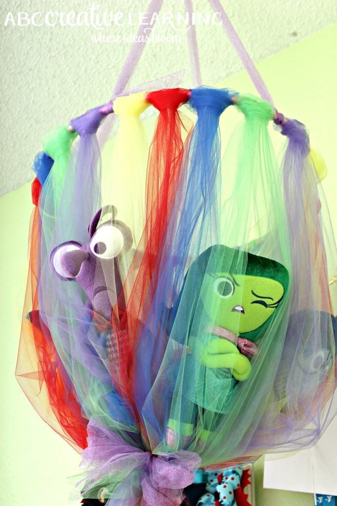 No Sew Tulle Toy Plush Holder Inspired by Inside Out Emotions Emotions Toys