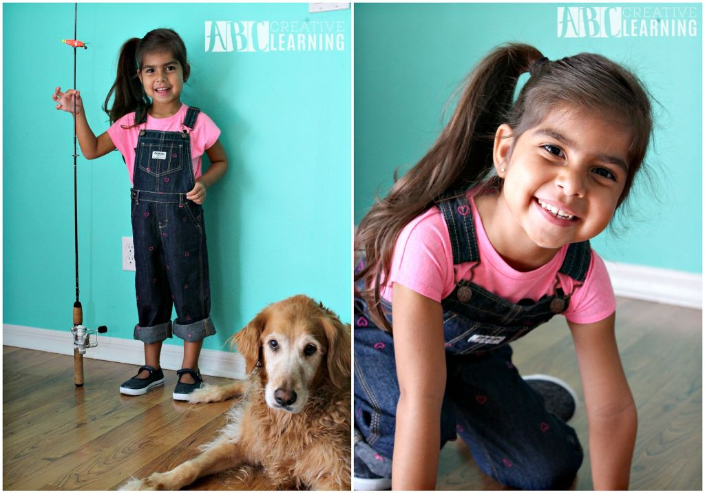 Back to School in Style and a Fall Apple Activity Overalls Jeans