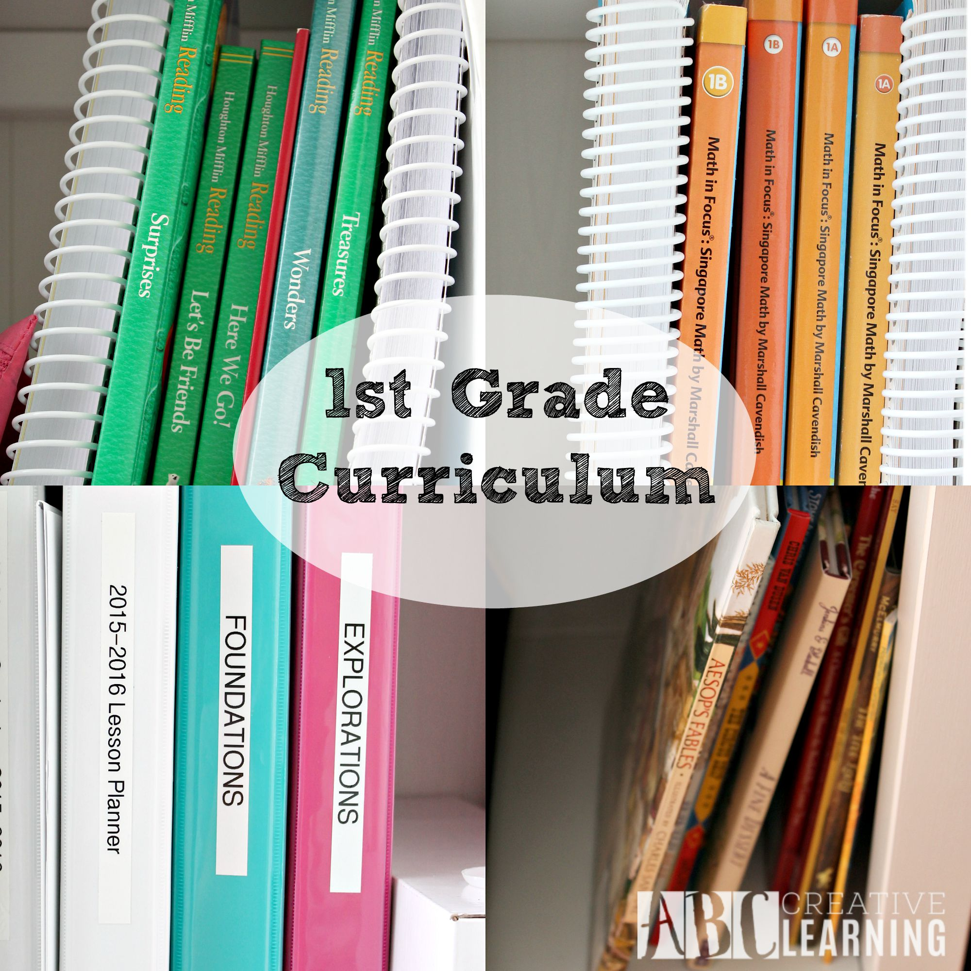Our Curriculum 2015-2016 1st Grade