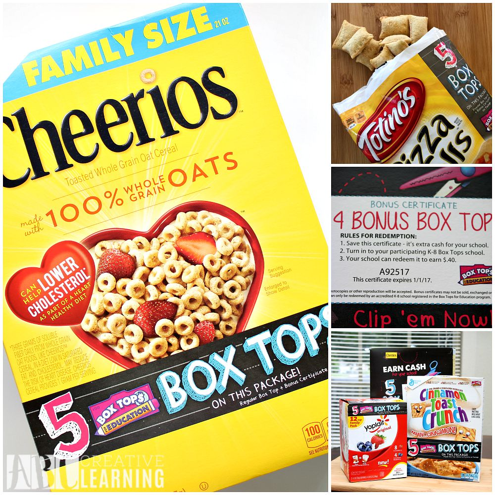 Share the Love of Bonus Box Tops with the Community Products