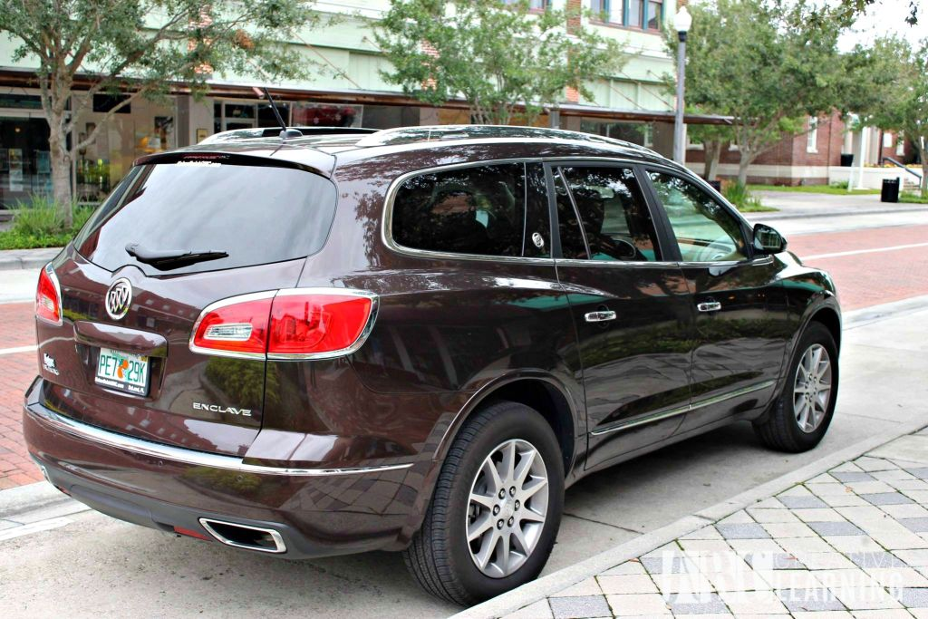 Buick 24 Hours of Happiness Test Drive with the 2015 Enclave Outside